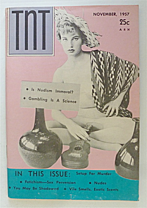 Tnt Magazine November 1957 Is Nudism Immoral?