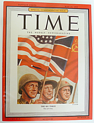 Time Magazine May 14, 1945 Special: The Big Three  (Image1)