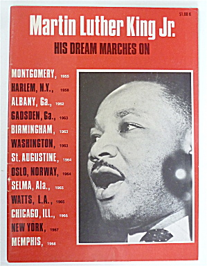Martin Luther King Jr 1968 His Dream Marches On