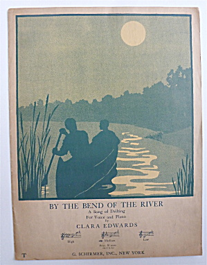 Sheet Music For 1927 By The Bend Of The River