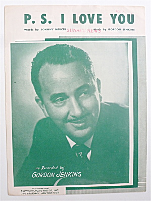 Sheet Music For 1934 P. S. I Love You  (Image1)