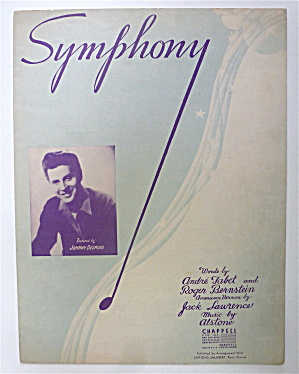 Sheet Music For 1945 Symphony