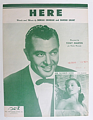 Sheet Music For 1954 Here