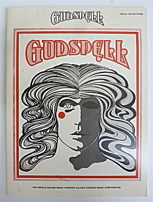 Sheet Music Book For 1971 Godspell