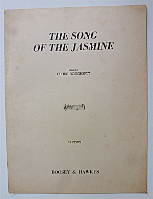 Sheet Music For 1951 The Song Of The Jasmine