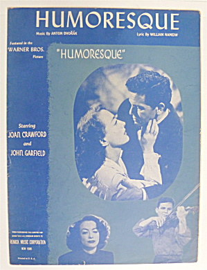 Sheet Music For 1946 Humoresque