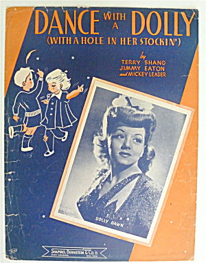 Sheet Music For 1944 Dance With A Dolly