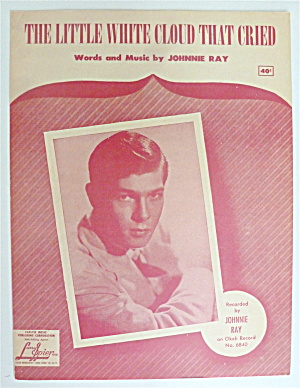 Sheet Music For 1951 The Little White Cloud That Cried