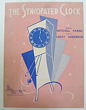 Sheet Music For 1950 The Syncopated Clock