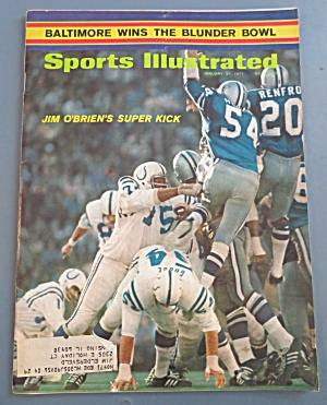 Sports Illustrated-January 25, 1971-JIm O' Brien's Kick (Image1)
