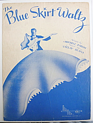 Sheet Music For 1948 The Blue Skirt Waltz (Image1)