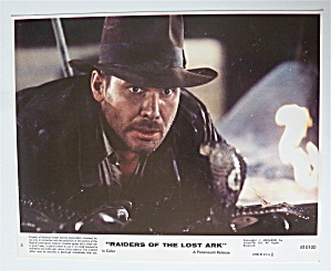 Raiders Of The Lost Ark Lobby Card 1981 Harrison Ford