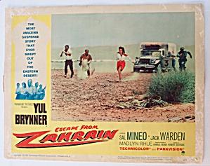 Escape From Zahrain Lobby Card 1961 Sal Mineo  (Image1)