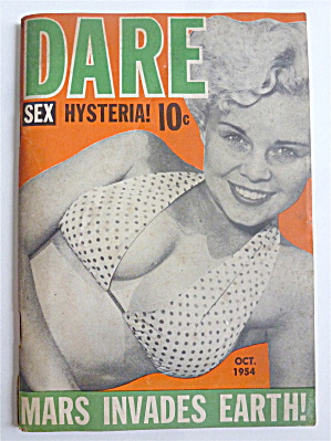 Dare Magazine October 1954 Virgie Hill