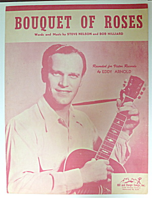 Sheet Music For 1948 Bouquet Of Roses