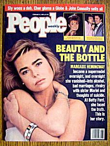 People Magazine-February 8, 1988-Margaux Hemingway (Image1)