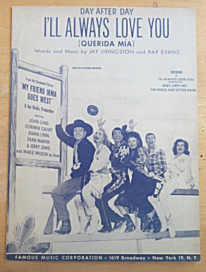 Sheet Music For 1950 No Other Love