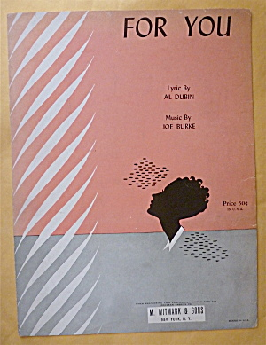 Sheet Music For 1930 For You (Image1)