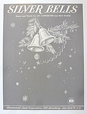 Sheet Music For 1950 Silver Bells By Livingston & Evans (Image1)