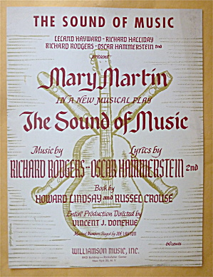 Sheet Music For 1959 The Sound Of Music
