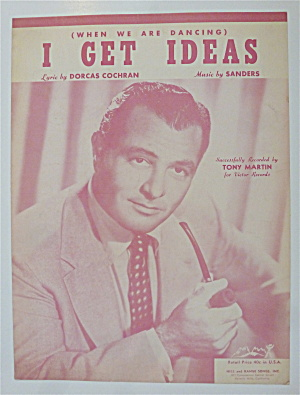 Sheet Music For 1951 I Get Ideas