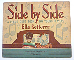 Sheet Music Book For 1940 Side By Side