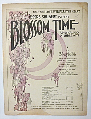 Sheet Music For 1921 Only One Love Ever Fills The Heart