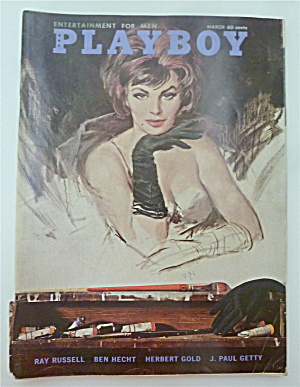 Playboy Magazine-march 1962-pamela Anne