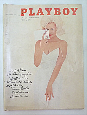 Playboy Magazine-february 1962-kari Knudsen