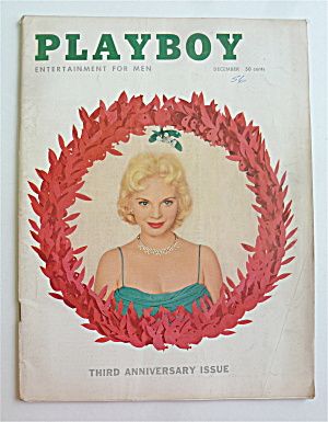 Playboy Magazine-December 1956-Lisa Winters (Image1)