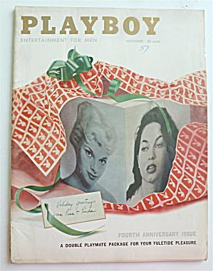 Playboy Magazine-December 1957-Lisa/Linda Vargas (Image1)