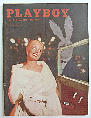 Playboy Magazine-october 1957-colleen Farrington