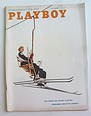 Playboy Magazine November 1958 Joan Staley (Image1)
