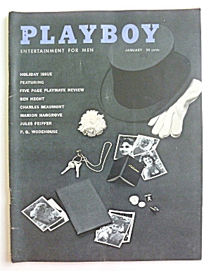 Playboy Magazine-january 1959-blackbook Photos