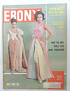 Ebony Magazine July 1962 Diahann Carroll