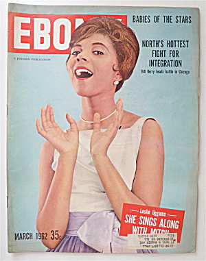 Ebony Magazine March 1962 Leslie Uggams Sings