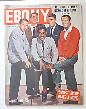 Ebony Magazine August 1960 Summit Group Makes A Movie
