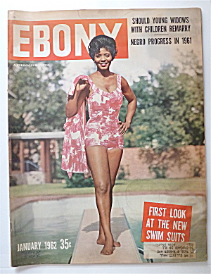 Ebony Magazine January 1962 First Look At Swim Suits
