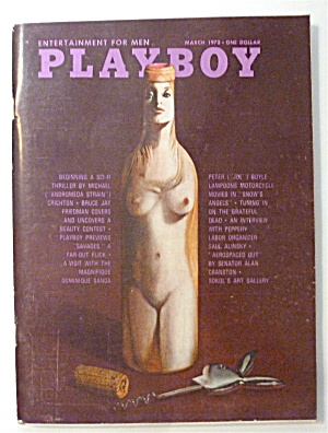Playboy Magazine-march 1972-ellen Michaels