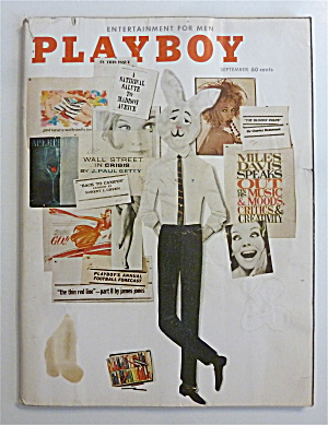 Playboy Magazine-september 1962-mickey Winters