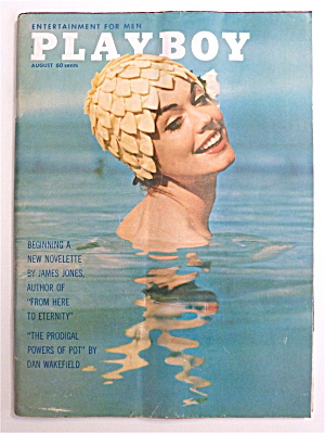 Playboy Magazine-august 1962-jan Roberts