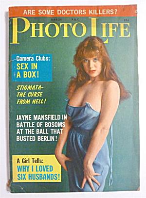 Photo Life Magazine - March 1962 - Jayne Mansfield  (Image1)
