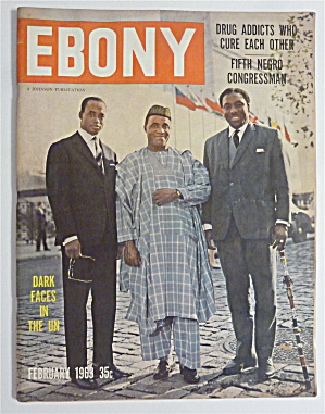 Ebony Magazine February 1963 Dark Faces In The Un
