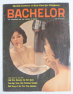Bachelor Magazine-june 1964-loretta Newman