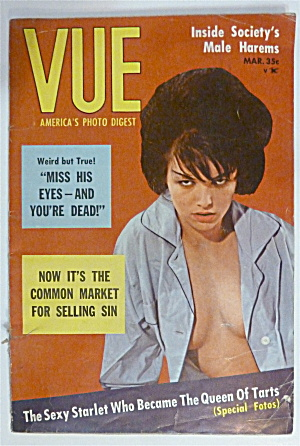 Vue Magazine - March 1964 - Jill Stevens