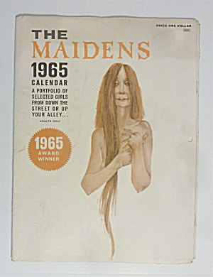 The Maidens Calendar 1965 Portfolio Of Girls