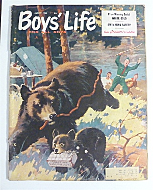 Boys' Life Magazine August 1955 Swimming Safety