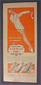 Ad - 1942 Airman Shirts Ad By Petty (Image1)
