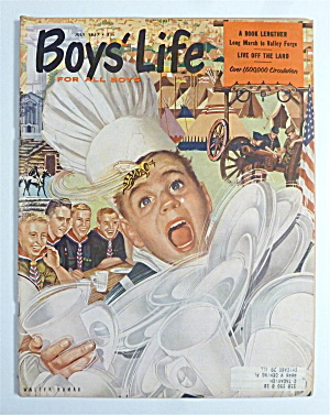 Boys' Life Magazine July 1957 Live Off The Land