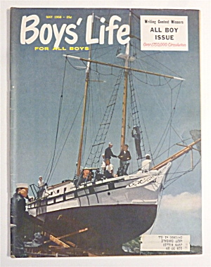 Boys' Life Magazine May 1958 All Boy Issue